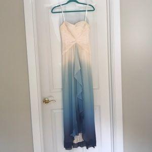 Ombré Prom Dress: BCGBMAXAZARIA